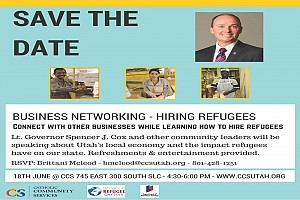 Business Networking - Hiring Refugees