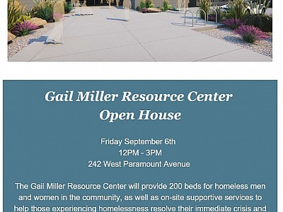 Gail Miller Resource Center Open House